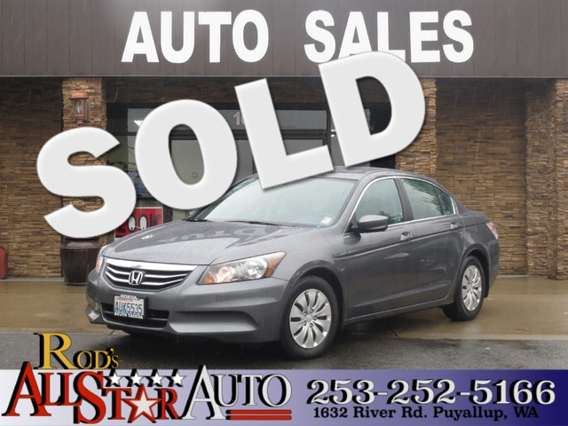2012 Honda Accord LX The CARFAX Buy Back Guarantee that comes with this vehicle means that you can