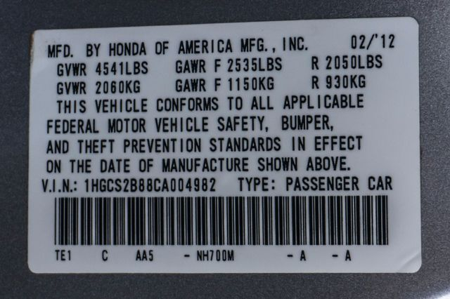 2012 Honda Accord EX-L Reseda, CA 37