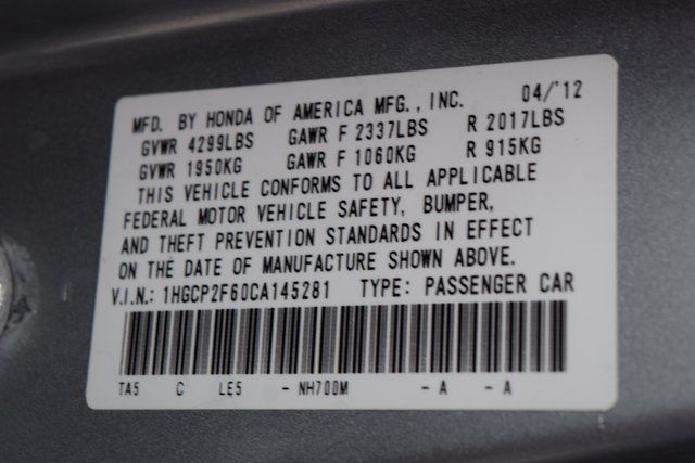 2012 Honda Accord SE Richmond Hill, New York 32