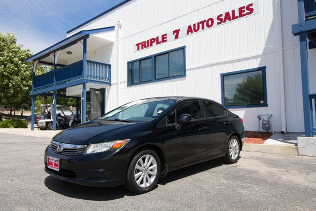 2012 Honda Civic EX  VIN 2HGFB2F8XCH331828 71k miles  AMFM CD Player Anti-Theft Sunroof A