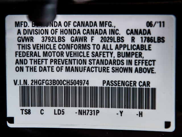 2012 Honda Civic EX-L Burbank, CA 8