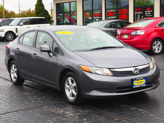 2012 Honda Civic CNG | Champaign, Illinois | The Auto Mall of Champaign in Champaign Illinois