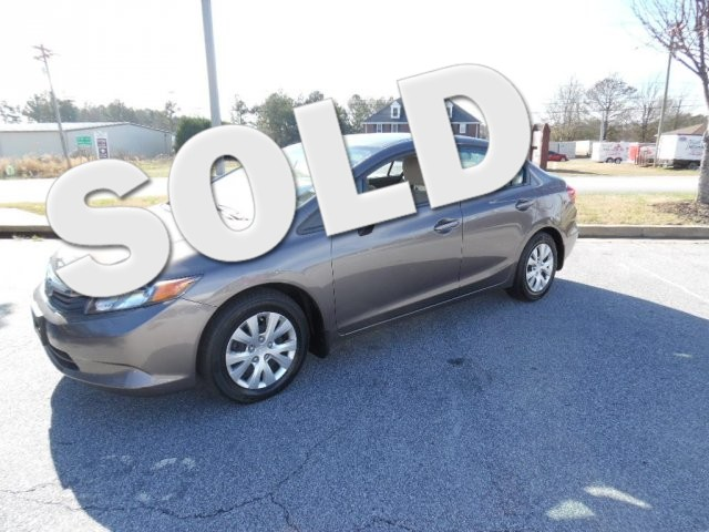 2012 Honda Civic LX SUPER SHARP VEHICLE CLEAN INSIDE AND OUT GREAT ECONOMY CAR LOW MILES33 00