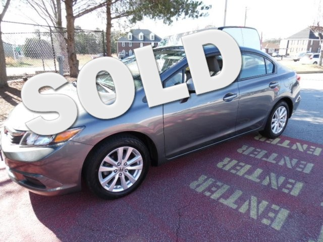 2012 Honda Civic EX-L SUPER SHARP VEHICLE CLEAN INSIDE AND OUT GREAT ECONOMY CAR LOW MILES27 0