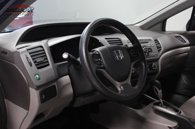2012 Honda Civic LX Merrillville, Indiana 9