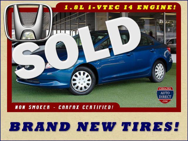 2012 Honda Civic LX - BRAND NEW TIRES! Mooresville , NC 0