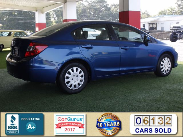 2012 Honda Civic LX - BRAND NEW TIRES! Mooresville , NC 2