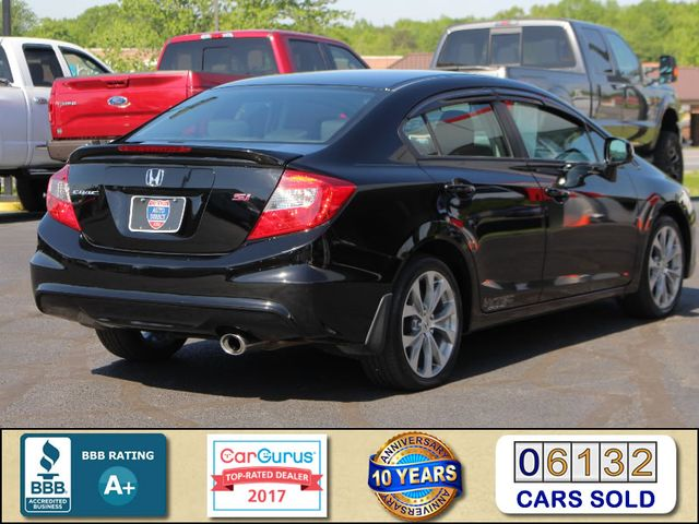 2012 Honda Civic Si FWD - SUNROOF - 6SP MANUAL! Mooresville , NC 1
