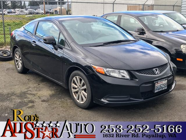2012 Honda Civic EX This vehicle is a CarFax certified one-owner used car Pre-owned vehicles can