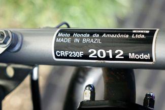 2012 Honda CRF230F Trail Bike Plano, Texas 30