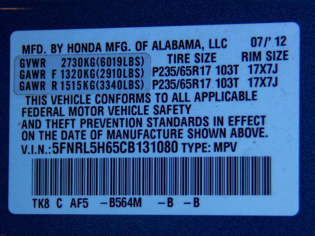 2012 Honda Odyssey EX-L Burbank, CA 43