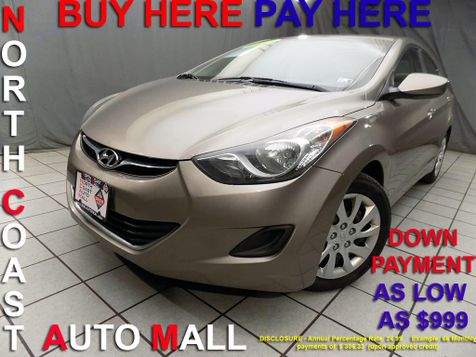 2012 Hyundai Elantra GLS PZEV As low as $999 DOWN in Cleveland, Ohio