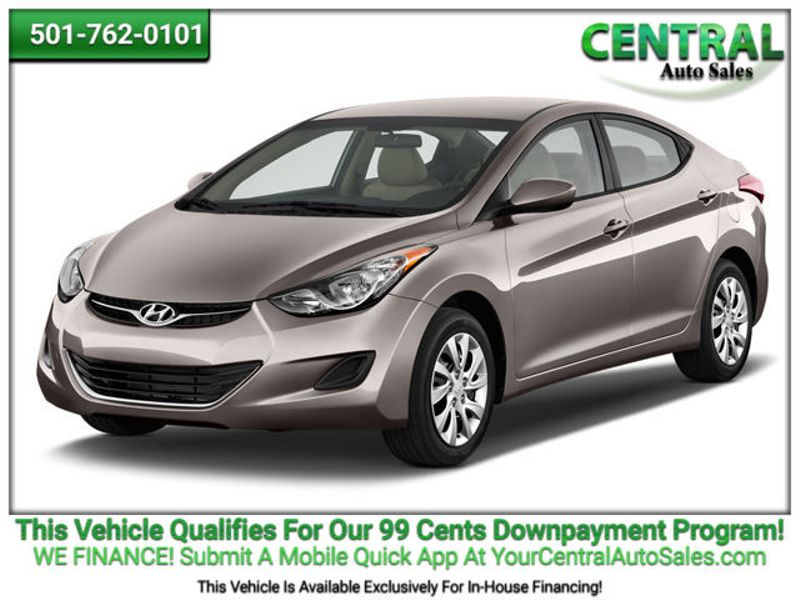 2012 Hyundai Elantra Limited PZEV | Hot Springs, AR | Central Auto Sales in Hot Springs AR