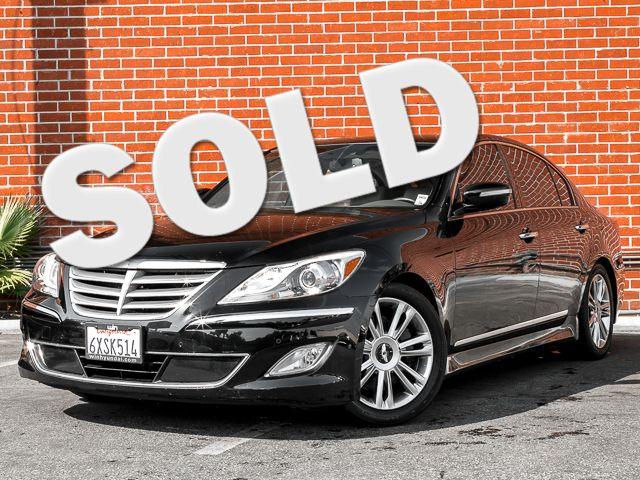 2012 Hyundai Genesis 4.6L Burbank, CA 0