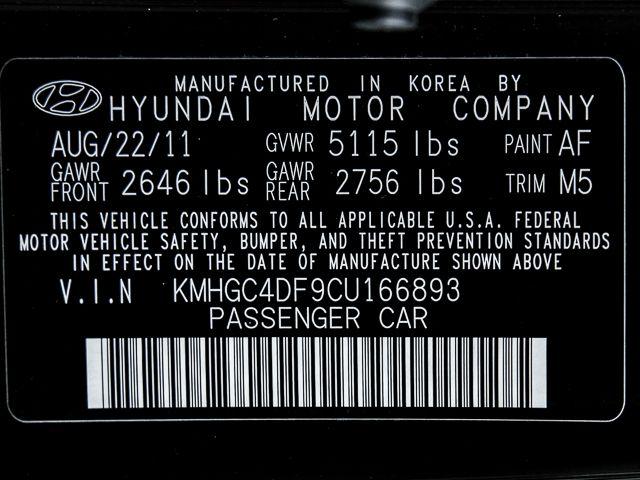 2012 Hyundai Genesis 4.6L Burbank, CA 31