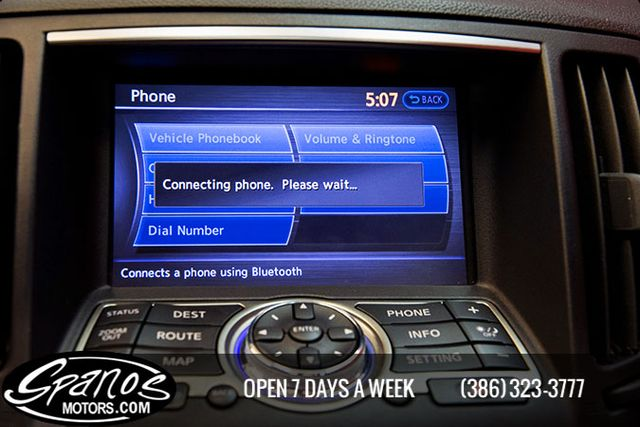 2012 Infiniti G37S Sedan Sport Daytona Beach, FL 28