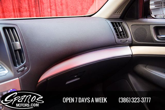 2012 Infiniti G37S Sedan Sport Daytona Beach, FL 32