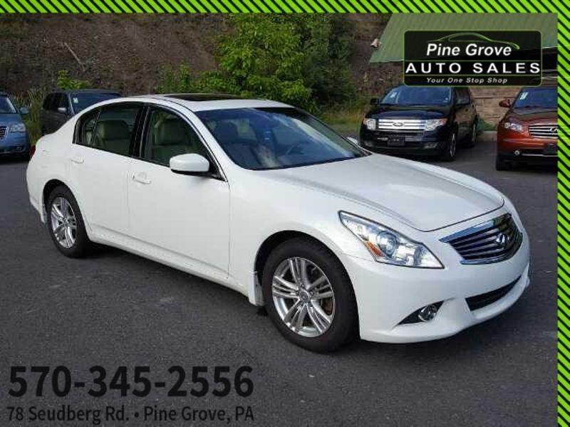 2012 Infiniti G37 Sedan x | Pine Grove, PA | Pine Grove Auto Sales in Pine Grove, PA