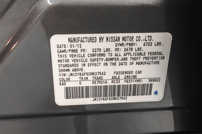 2012 Infiniti G37 Sedan Journey  city CA  M Sport Motors  in Walnut Creek, CA