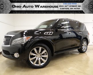 2012 Infiniti QX56 4x4 Navi Sunroof Tv/DVD 1-Own We Finance in  Ohio