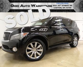 2012 Infiniti QX56 4x4 Navi Sunroof Tv/DVD 1-Own We Finance | Canton, Ohio | Ohio Auto Warehouse LLC in  Ohio