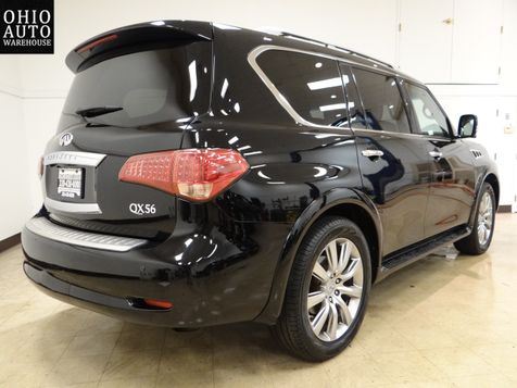 2012 Infiniti QX56 4x4 Navi Sunroof Tv/DVD 1-Own We Finance | Canton, Ohio | Ohio Auto Warehouse LLC in Canton, Ohio