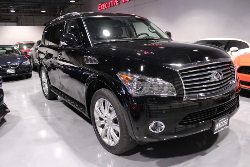 2012 Infiniti QX56 7-passenger  Lake Forest IL  Executive Motor Carz  in Lake Forest, IL
