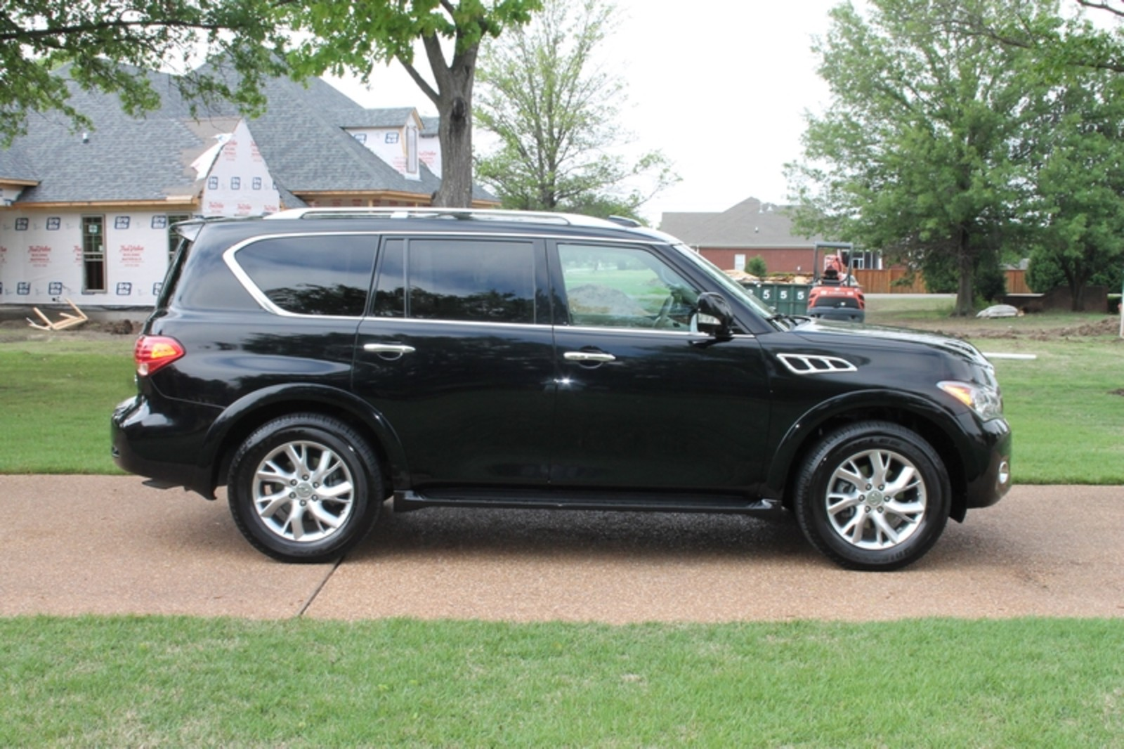 2012 infiniti qx56 7 passenger ebay. Black Bedroom Furniture Sets. Home Design Ideas