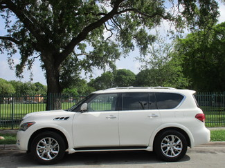 2012 Infiniti QX56 7-passenger Miami, Florida 1