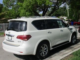 2012 Infiniti QX56 7-passenger Miami, Florida 4