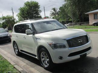 2012 Infiniti QX56 7-passenger Miami, Florida 5