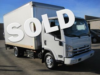 2012 Isuzu NPR Diesel 14ft Box Van  With Liftgate, 1 Owner, Real Nice Plano, Texas