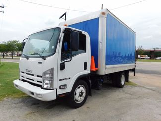 2012 Isuzu NQR- TILT CAB DIESEL, 14 ft. DELIVERY, BOX TRUCK Irving, Texas 1