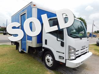 2012 Isuzu NQR- TILT CAB DIESEL, 14 ft. DELIVERY, BOX TRUCK Irving, Texas