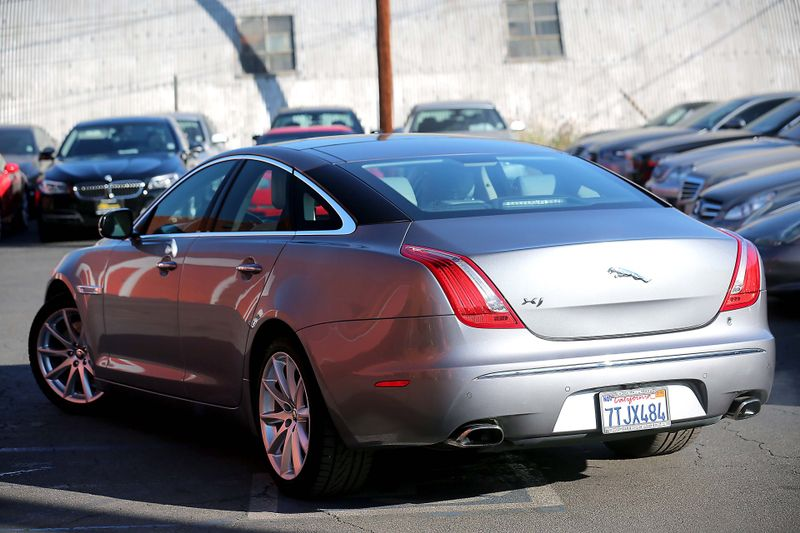 2012 Jaguar XJ - Navigation - Panoramic sunroof  city California  MDK International  in Los Angeles, California