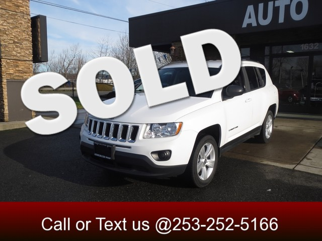2012 Jeep Compass Sport The CARFAX Buy Back Guarantee that comes with this vehicle means that you