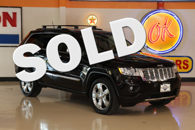 2012 Jeep Grand Cherokee Overland This Carfax 1-Owner 2012 Jeep Grand Cherokee Overland is in great
