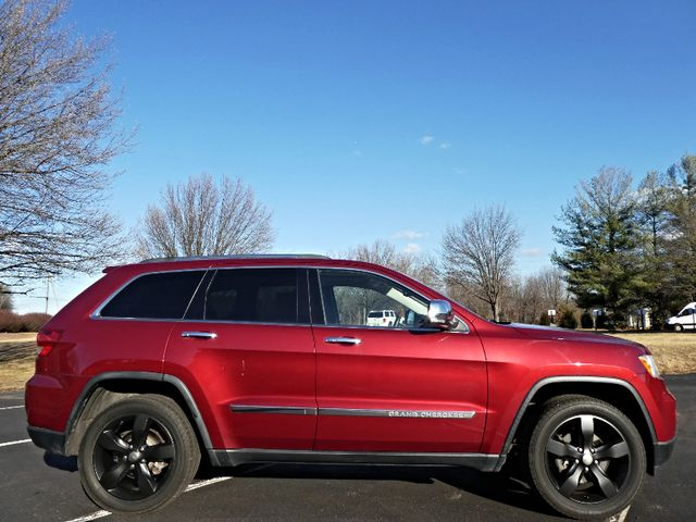 2012 Jeep Grand Cherokee Overland Leesburg, Virginia 4