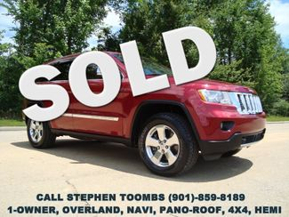 2012 Jeep Grand Cherokee Overland HEMI, 1-OWNER, 4X4, NAVI, PANO-ROOF, ADVANCE PKG | Memphis, Tennessee | Mt Moriah Auto Sales in  Tennessee