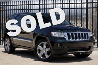 2012 Jeep Grand Cherokee Overland * 1-OWNER * Blind Spot * NAVI * Pano Roof Plano, Texas