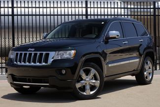 2012 Jeep Grand Cherokee Overland * 1-OWNER * Blind Spot * NAVI * Pano Roof Plano, Texas 1
