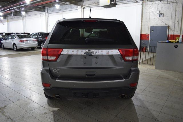 2012 Jeep Grand Cherokee Overland Summit Richmond Hill, New York 4