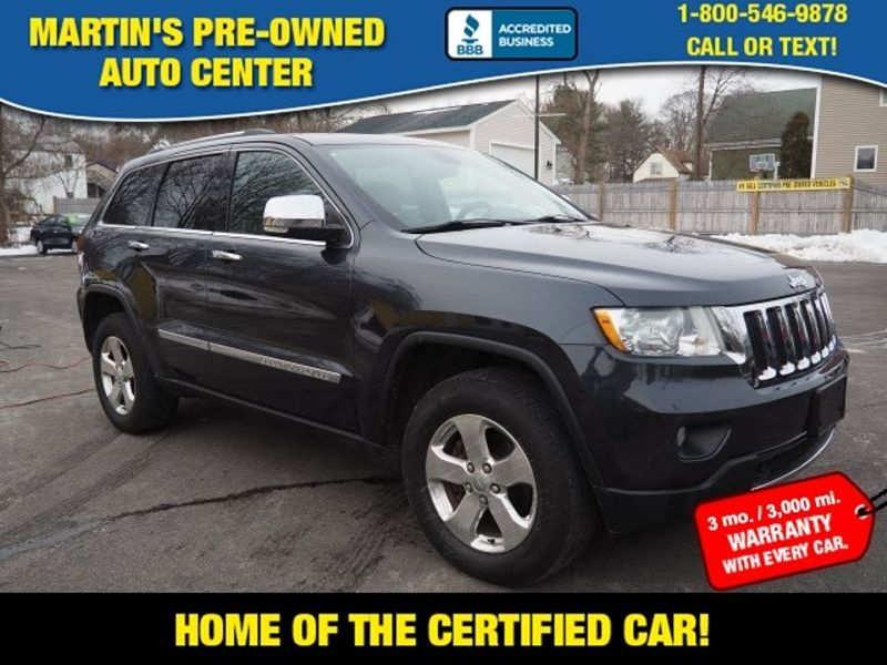 2012 Jeep Grand Cherokee Limited | Whitman, Massachusetts | Martin's Pre-Owned