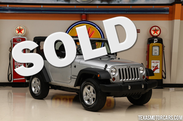 2012 Jeep Wrangler Sport This Carfax 1-Owner 2012 Jeep Wrangler Sport is in great shape with only