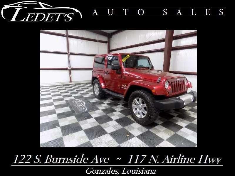 2012 Jeep Wrangler Sahara - Ledet's Auto Sales Gonzales_state_zip in Gonzales Louisiana