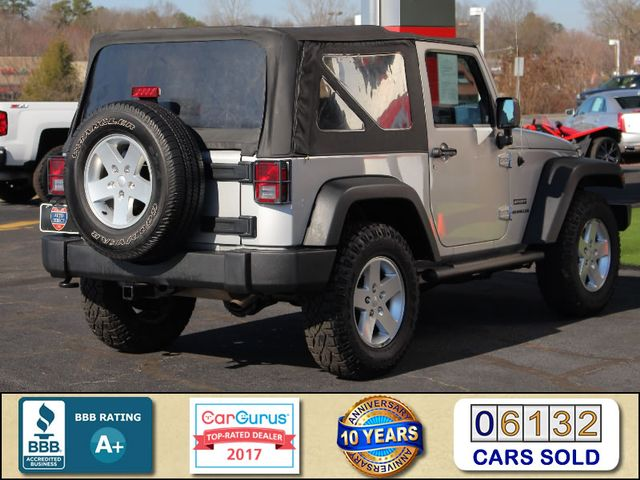 2012 Jeep Wrangler Sport 4X4 - BLACK APPEARANCE PKG! Mooresville , NC 2