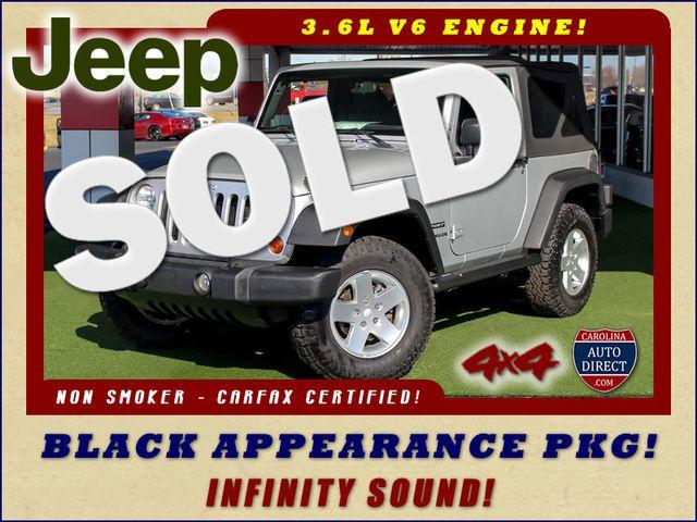 2012 Jeep Wrangler Sport 4X4 - BLACK APPEARANCE PKG! Mooresville , NC 0
