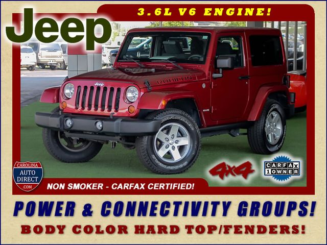 2012 Jeep Wrangler Rubicon 4X4 - POWER PKG - BLUETOOTH! Mooresville , NC 0