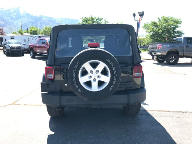 2012 Jeep Wrangler Sport Ogden, Utah 3