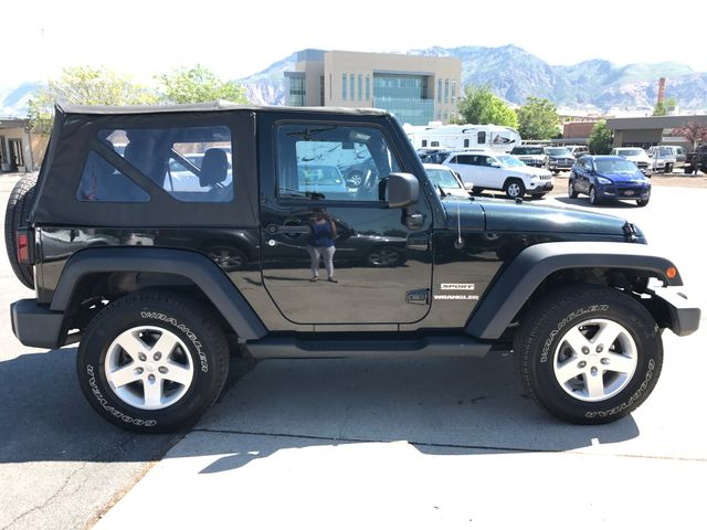 2012 Jeep Wrangler Sport Ogden, Utah 5
